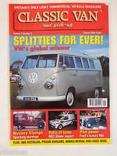Classic Van & Pick Up January 2003 VW Split Screen/Ford V8 Pilot/Hillman Imp