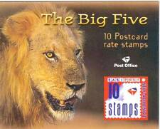 SOUTH AFRICA, 2001 BOOKLET,LION. (BIG FIVE) SG SB62, MNH COMPLETE,