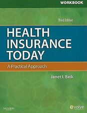 Workbook for Health Insurance Today by Janet I. Beik (2010, Paperback)
