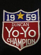 1959 DUNCAN YO-YO CHAMPION PATCH