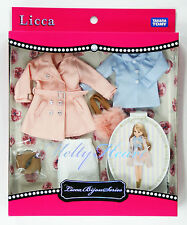 Takara Tomy Licca Doll Bijou Series Dress Set Melty Heart (875864)