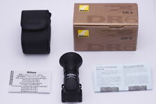 [Top Mint in Box!] Nikon DR-6 Right Angle Finder w/Box Soft Case From Japan #252