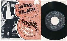 """HERVE VILARD 45 TOURS 7"""" BELGIUM SAYONARA"""