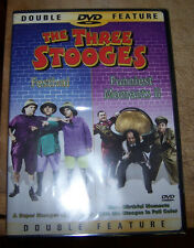 The Three Stooges Double Feature - Festival/ Funniest Moments II (DVD 2002) NEW!