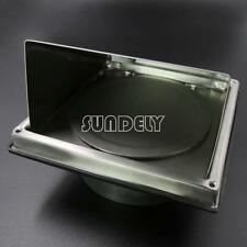 """6"""" Stainless Steel Cooker Hood Extractor Outside Wall Air Vent Cowl Hood Outlet"""