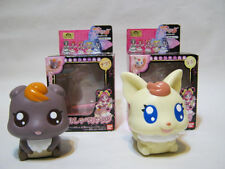 YES PRECURE 5 TALKING DOLL PRETTY CURE FIGURE COCO and NUTS BANDAI JAPAN USED