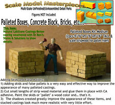 Palleted Cement Blocks (2pcs) Scale Thomas Yorke/SMM03 HO Fine Craftsman Details