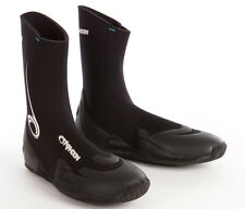 Typhoon Vortex 5mm GBS Round Toe wetsuit surf boot, size UK 7, great grippy sole