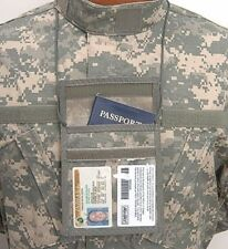 Vertical Neck ID and Passport Holder ACU