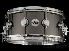 DW 14 x 6.5 Collector's Series Black Nickel Over Brass Snare Drum