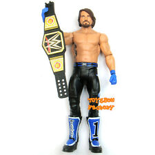 AJ Styles Phenomenal TNA WWE World Champion Belt Wrestling Action Figure Kid Toy