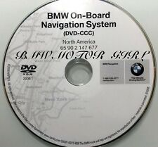 2007 2008 BMW 328i 328xi 335i 335xi Navigation DVD Map U.S Canada 2009.1 Update