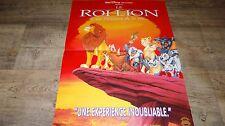 LE ROI LION ! affiche cinema animation bd disney