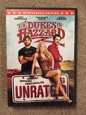 The Dukes of Hazzard DVD Unrated Widescreen PERFECT! Seann William Scott