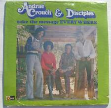 1970 ANDRAE CROUCH & DISCIPLES take the message everywhere Debut 1st vinyl LP