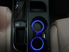 LED Cup Holder Lights -Blue LEDs - Fits 2015-2017 Hyundai Sonata Custom Mods