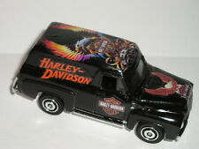 Matchbox  HARLEY DAVIDSON Motorcycles 1955 Ford f-100 custom panel truck