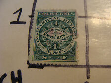 MATCH STAMP TAX: METROPOLITAN MATCHES 4 cents