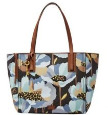 ZB6911992 New Fossil Emma Tote Dard Floweral PVC Shopper Hand Bag £139.00