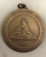 ANA American Numismatic Ass'n 72nd Convention Denver 1963 Medal