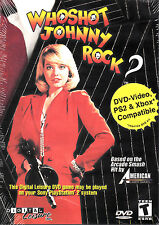 Who Shot Johnny Rock? DVD NEW works on Xbox One, 360, PlayStation 2, 3, 4