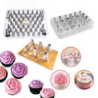 6/24/52 Pcs Icing Piping Nozzle Cake Decorating Sugarcraft Pastry Tips Tool Set