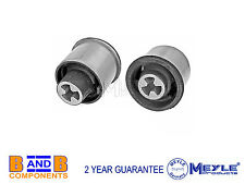 VW GOLF MK4 BORA AUDI A3 TDI  REAR AXLE MOUNT PAIR MEYLE C124