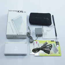 Brand New Pure White Nintendo DS Lite HandHeld Console System + gifts