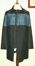 DKNY Slim Fit Lightweight Coat Navy Size 40R
