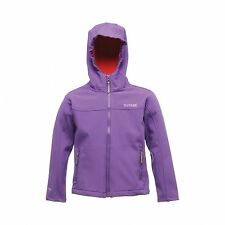 Regatta Tyson II Girls Kids Sport Water Repellent Hood Jacket 14-15 eu 34 176 cm