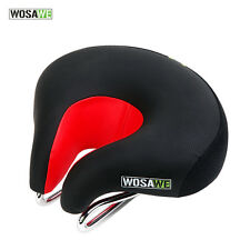 Black Comfort Mountain Road MTB Bike Bicycle Cycling Saddle Seats Cushion Pads