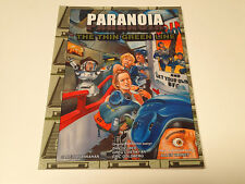 Paranoia RPG: The Thin Green Line   2008 1st printing  MGP6661  (Paranoia XP)