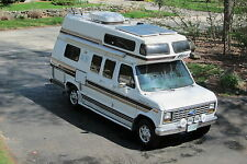 1990 FORD E250 FALCON RV CAMPER by INTERVEC; CLEAN; LOTS OF UPGRADES; LOW MILES
