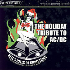 FREE US SH (int'l sh=$0-$3) NEW CD Tribute to Ac, Dc: Hell's Bells of Christmas: