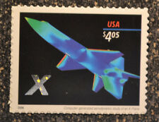 2006USA #4018 $4.05  X Plane  -  Priority Mail  -  Mint  NH  space