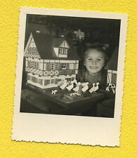 um 1940  Kinderfreude zu WEIHNACHTEN - Echtphoto auf AGFA LUPEX mit viel Detail