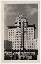 EL CORTEZ HOTEL San Diego California RPPC Real Photo Postcard PISMO BEACH CALI