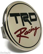 """USED TRD Racing Chrome Class II Hitch Plug Cover 1.25"""" Receiver Stainless Steel"""