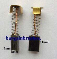 CARBON BRUSHES for WICKS WICKES ANGLE GRINDER N SKU 186894 115MM 230MM  E109