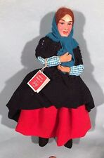 Vintage 1950s IRISH DOLL Handmade Jay of Dublin ARAN ISLAND LADY Ireland antique
