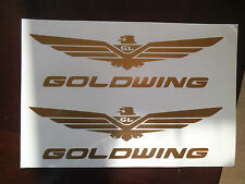 2 x Honda Goldwing decals/stickers