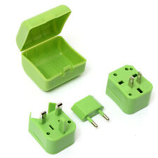 Universal World US/UK/EU/AU Travel Plug AC Power Outlet Socket Adapter Converter