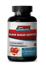 Blood Sugar Capsule - Blood Sugar Support 620mg - Minimizes Oxidative Stress 1B