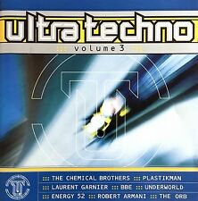 Compilation 2xCD Ultra Techno - Volume 3 - France (M/EX+)