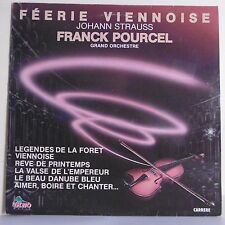 """33T Franck POURCEL Disque LP 12"""" FEERIE VIENNOISE J. Strauss DINO Music 30058"""