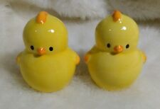 Baby Chick Salt And Pepper Shakers Yellow