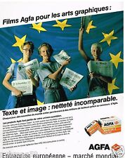 Publicité Advertising 1989 Pellicules Photo Agfa