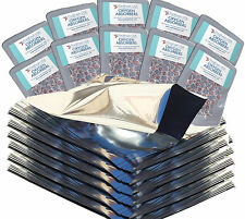 (100) 1 Gallon Mylar Foil Bags + (100) 500cc Oxygen Absorbers Food Storage