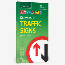 KNOW YOUR TRAFFIC SIGNS UK PAPERBACK FREE P&P BRAND NEW BOOK