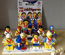 Lego Minifigures 8909 London Olympics 2012 Complete Set